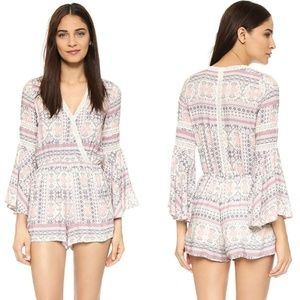 L Space Lovestruck Rimini Romper Sz S
